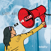 """CD mit trinity """"loud and clear"""""""