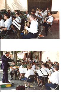 Concert de quartier - Veauche 26/06/1992