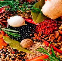 Workshop geneeskracht uit je keukenkastje, over kruiden en zo waar je mee kookt, maar die je ook geneeskrachtig in kan zetten.