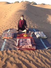 pleine conscience dans le désert