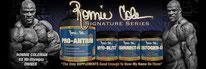 Retrouve les produits Ronnie Coleman Signatures Series sur Nutrisport.ch