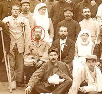 Avril 1915 : Marcel est blessé