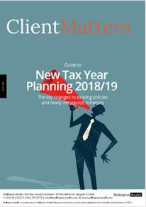Client Matters - Wellington Wealth Magazine - New Year Tax Planning - IFA Glasgow