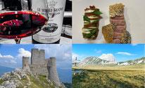 Bauwerke, Landschaften und Gastronomie