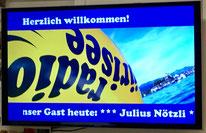 #Radio Zürisee #Dä Nötzli mit dä Chlötzli #Julius Nötzli #Chlefele #Seenachtfescht Rapperswil