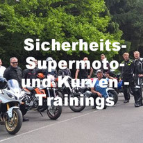 Motorrad Sicherheits Trainings, Supermoto Trainings, Kurventrainings