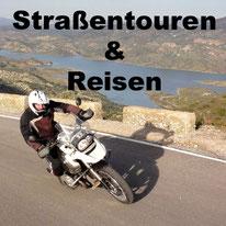 Straßenmotorrad Touren, Motorradreisen