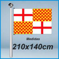Banderas tabarnia 210x140cm don bandera.