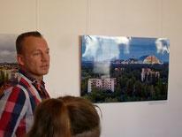 Eröffnung der Ausstellung Tsche...