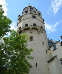 Münzturm Hall Burg Hasegg