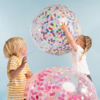 ballon, enfants, anniversaire