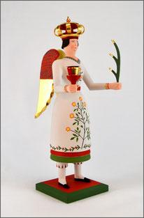 Beinengel Hulda, Großer Lichterträger, Tradition, Erzgebirge, Volkskunst, traditionelle
