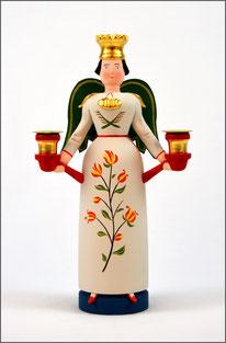 Tradition, Engel, Engel Selma, traditionell, historischem Vorbild, Brotteig, Erzgebirge Volkskunst