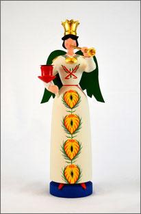 Tradition, Engel, Posaunenengel Johanna, traditionell, historischem Vorbild, Brotteig, Erzgebirge Volkskunst, traditionelle