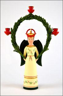 Tradition, Engel, Engel Linda, traditionell, historischem Vorbild, Brotteig, Erzgebirge Volkskunst