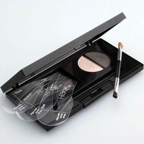 HiBrow powder correct eyebrows natural shape dark black brown light brown blonde good coverage
