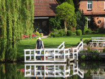 "Das ""Steinhaus"" am Alveser See"