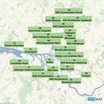 Wanderungen auf Hamburger Stadtgebiet