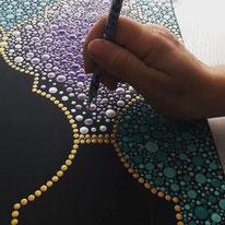 Blog: welke verf en tools gebruiken bij dot art