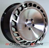 GTP Wheels GTP023 Black polished
