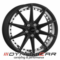 ELEGANCE WHEELS E1 CONCAVE SATIN BLACK SPLIT RIM