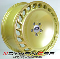GTP Wheels GTP023 Gold Full Painted