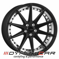 ELEGANCE WHEELS E1 DEEP CONCAVE SATIN BLACK SPLIT RIM