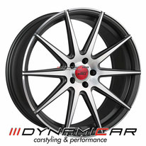 ELEGANCE WHEELS E1 CONCAVE SIGNATUR SATIN BLACK BRUSHED