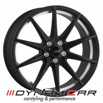 ELEGANCE WHEELS E1 CONCAVE SATIN BLACK UNDERCUT