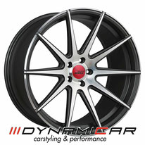 ELEGANCE WHEELS E1 DEEP CONCAVE SIGNATUR SATIN BLACK BRUSHED