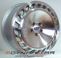 GTP Wheels GTP023 Silver Polished Face