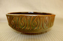 Hand-Carved Bowl--$55