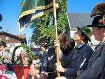 Fahne bei Leohnhardifahrt