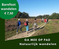 Barefootwandelen in Almere