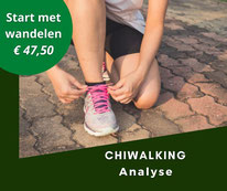 chiwalking analyse in Almere