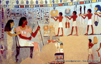 TT 96 Sennefer - Vallée des nobles - Egypte