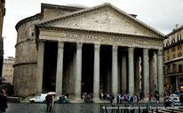 Le Panthéon de Rome - Italie - Hadrien