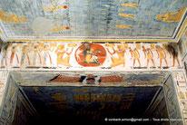 KV 6 Ramsès IX - Vallée des rois - Egypte