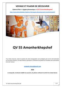 QV 55 - Amonherkhepshef (Monographie)