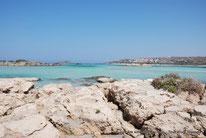 GR - Crète - Elafonissi - Lagune