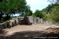 Tombe de Pascaredda (Sardaigne) - Tombe des géants