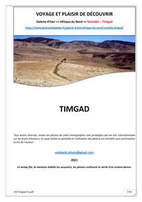 Numidie - Timgad - Thamugadi