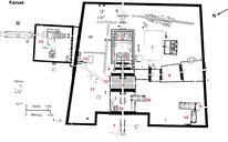 Karnak - Plan du site