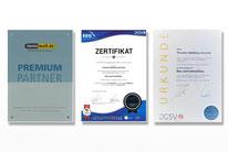 Unternehmen: Auszeichnungen
