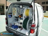 Vehicule débouchage plomberie Professionnel Nice