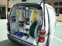 Vehicule débouchage plomberie Professionnel Marseille