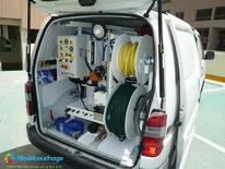 Vehicule débouchage plomberie Professionnel Nimes