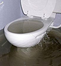 Canalisation wc bouchée debordement 06