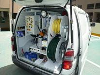 Vehicule débouchage plomberie Professionnel Aix en Provence