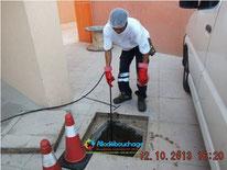 Debouchage canalisation particulier Antibes